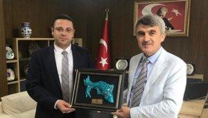 Rektör Uysal'dan İdare Mahkemesi Başkanı Cengiz'e ziyaret