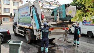 Şahinbey Belediyesi temizlik işleri ekipleri bayram boyunca görev başındaydı