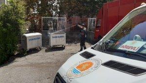 Samsun Büyükşehir Belediyesi'nden ilaçlama