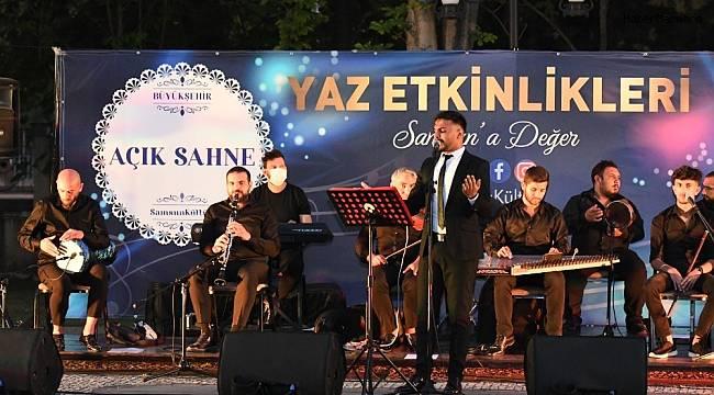 """Samsun Büyükşehirden """"Açık Sahne Halk Konseri"""""""