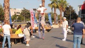 Samsun'da AVM'de festival tadında etkinlikler