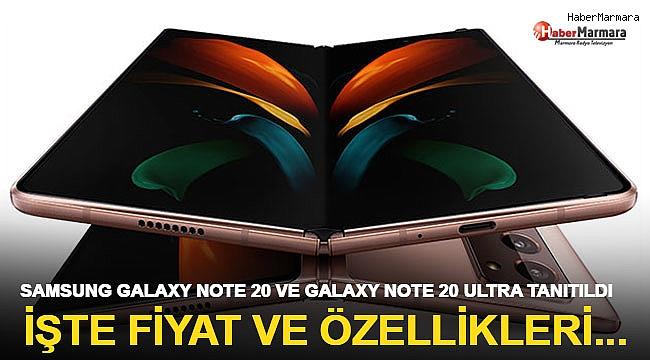 Samsung Galaxy Note20 ve Galaxy Note20 Ultra Tanıtıldı: İşte Fiyatı ve Özellikleri