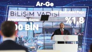 """Sanayi ve Teknoloji Bakanı Varank: """"Ülkemizi dünyanın sayılı üretim ve teknoloji üstlerinden birisi yapmayı hedefliyoruz"""""""