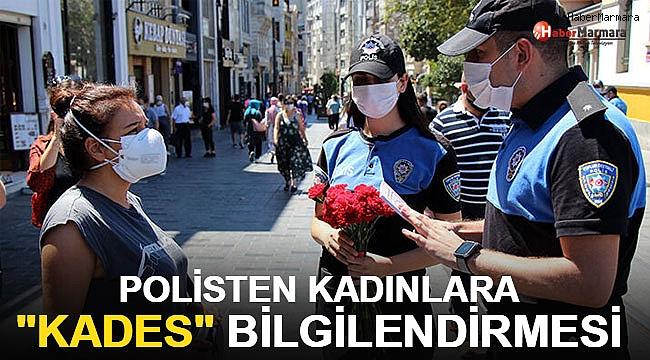 Taksim Meydanı ve İstiklal Caddesi'nde polisten kadınlara