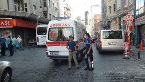 Taksim'de tiner kullanan iki kardeş birbirini yaktı: 1 ağır yaralı