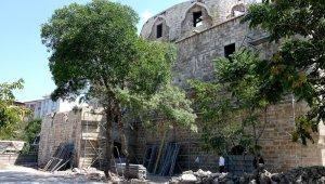 Taşhoron Kilisesi'nde restorasyonun yüzde 30'u tamamlandı