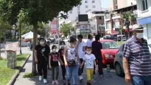 Tekirdağlılar maskesiz sokağa çıkmıyor