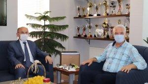Vali Karadeniz, Başkan Bilgin'i ziyaret etti