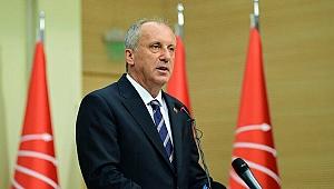 Yeni parti iddialarının ardından Muharrem İnce'den flaş açıklama