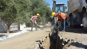Yeni Şakran'da doğalgaz çalışmaları devam ediyor