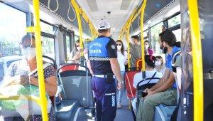 Zabıtadan korona virüs denetimi: Fazla yolcu alan şoföre ceza