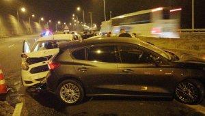 TEM Otoyolu İstanbul istikametine trafiğe kapatıldı