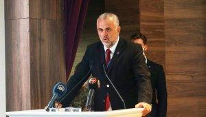 AK Parti Ayvalık İlçe Başkanı Gür yüreklere su serpti
