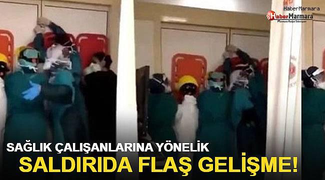 Ankara'da sağlık çalışanlarına saldırı girişiminde flaş gelişme