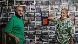 Artvinli yazar evini fotoğraf müzesine çevirdi