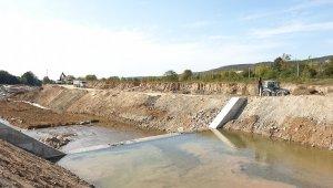 Asar deresinde ıslah çalışmaları devam ediyor