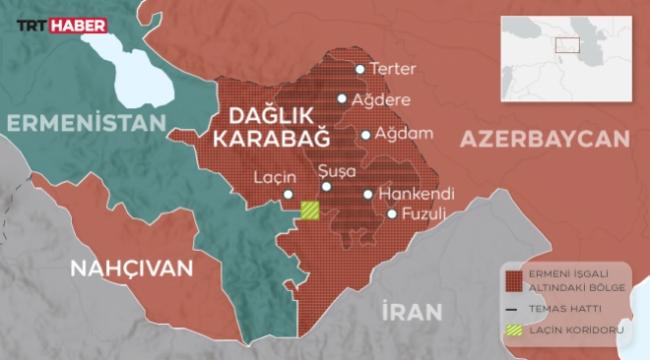 Azerbaycan-Ermenistan  şiddetli çatışmalar devam ediyor