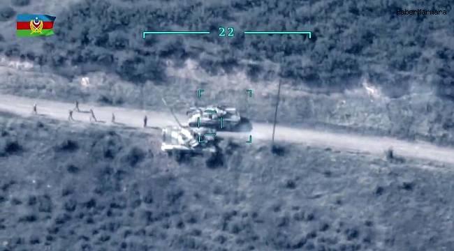 Azerbaycan Ordusu, Ermeni ordusunu  SİHA'larla Vurdu