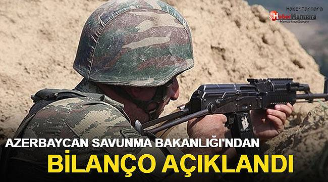 Azerbaycan Savunma Bakanlığı operasyonun bilançosunu açıkladı