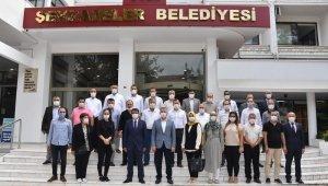 Başkan Çelik AK Parti Şehzadeler Teşkilatı'nı ağırladı