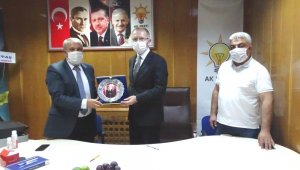Başkan Ceyhun, Hisarcık İlçe Teşkilatı ile bir araya geldi
