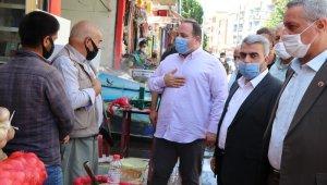 Başkanlar esnafa pandemi uyarısı