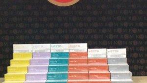 Bolu'da, 80 bin liralık elektronik sigara tütün kartuşu yakalandı: 1 gözaltı