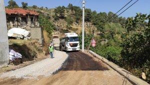 Çatakbağyaka'nın yolu asfaltlandı