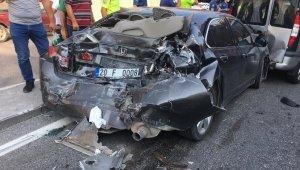 Denizli'de bir hafta içerisinde 104 trafik kazası meydana geldi