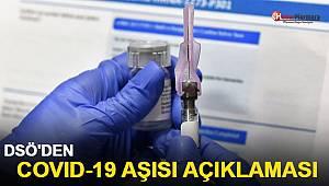 DSÖ'den Covid-19 aşısı açıklaması!