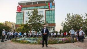 Erdemli Belediyesi'nden Azerbaycan'a destek