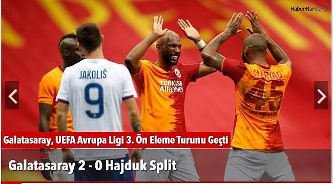 Galatasaray 2 - 0 Hajduk Split