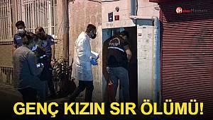 İstanbul'da genç kızın sır ölümü!