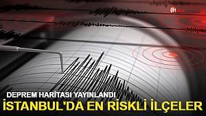 İstanbul'daki hangi ilçeler risk altında? Deprem haritası yayınlandı!