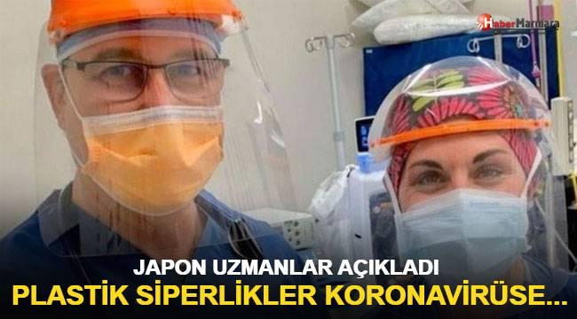 Japon uzmanlar açıkladı: Plastik siperlikler koronavirüse karşı...