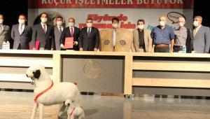 Karaman'da hayvancılık projesinin protokolü imzalandı