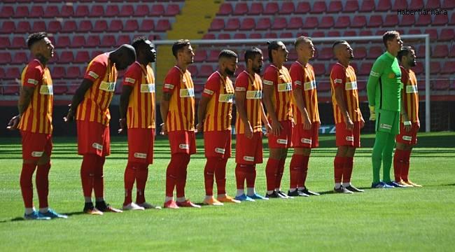 Kayserispor 3 maçta 2 gol attı
