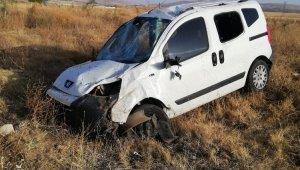 Kırşehir'de trafik kazası: 4 yaralı