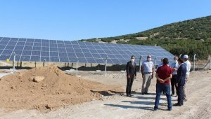 Köylüler içme suyu ihtiyaçlarını karşılamak için güneş enerji sistemi kurdu