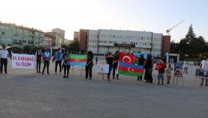 Niğde'de yaşayan Azerbaycanlı öğrencilerden Türk halkına teşekkür