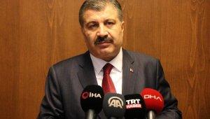 """Sağlık Bakanı Koca: """"Vaka artış hızımız kontrol altına alındı"""""""