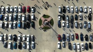 Samsun'da 13 bin 728 araç el değiştirdi