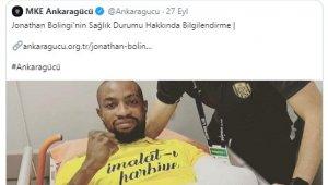 Sivasspor'dan Bolingi'ye geçmiş olsun mesajı