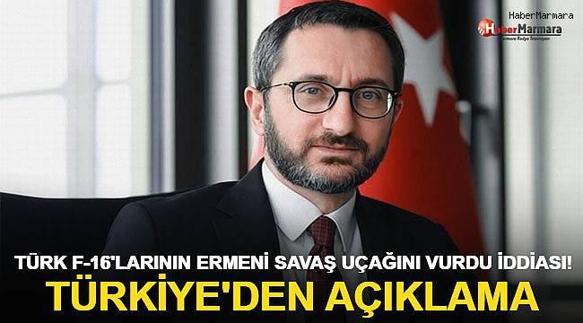 Türk F-16'larının Ermeni savaş uçağını vurdu iddiası! Türkiye'den açıklama