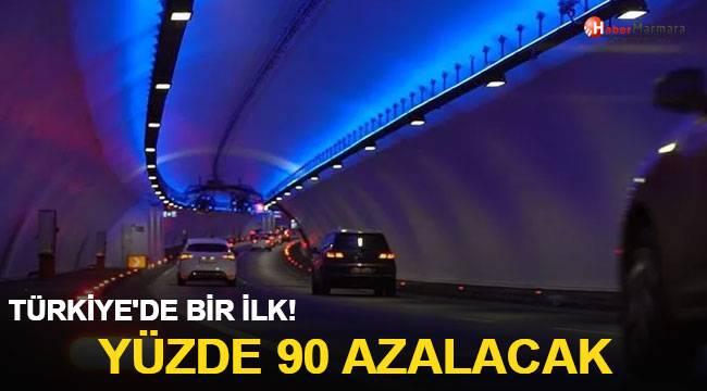 Türkiye'de ilk kez kullanılıyor! Yüzde 90 azalacak