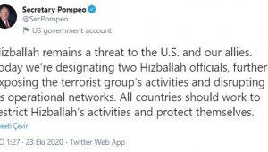 ABD'den İran'ın Bağdat Büyükelçisi Mescidi ve iki Hizbullah yetkilisine yaptırım