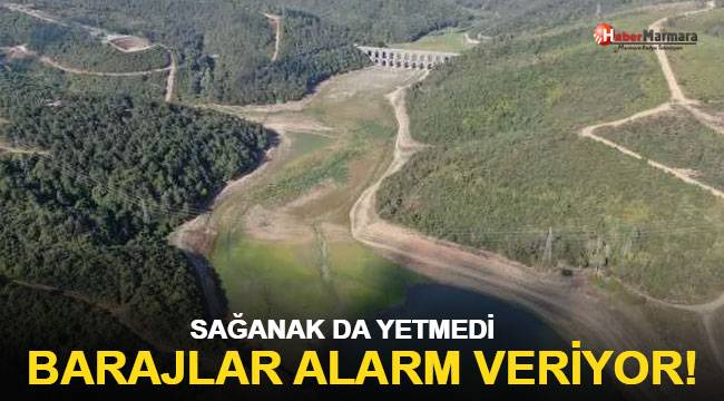 Barajlar alarm veriyor... İstanbul'da susuzluk tehlikesi!