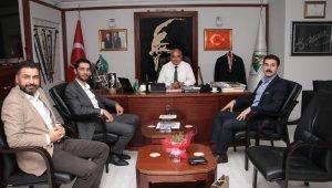 Başkan Bozkurt'a danışmanlardan ziyaret