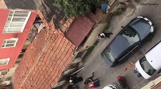Beyoğlu'nda pompalı dehşeti kamerada: 1 ölü