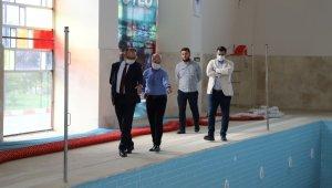 CHP'li başkan hizmet için AK Parti'li başkanla buluştu